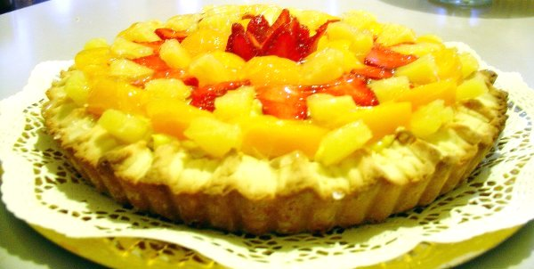 crostata con frutta di stagione Ricette Dolci Marchigiani agriturismiurbino